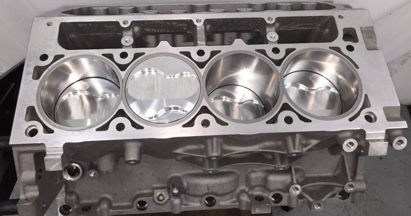 TREperformance - LS 6.0 Stroker Short Block 408ci 9.240 Deck - Image 1