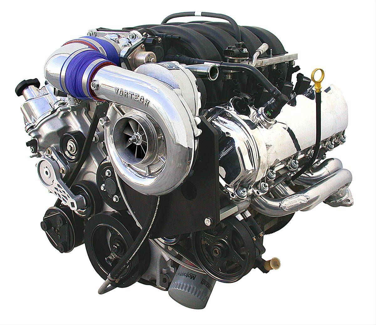 Vortech Supercharger Unit: Ford Mustang GT 2005-2006 4.6 3V Vortech Supercharger V-3