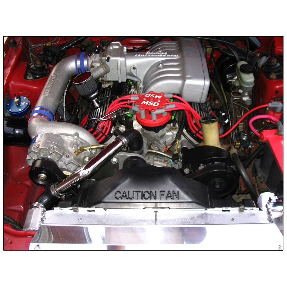 Vortech Centrifugal Supercharger System From Ess Tuning: Ford Mustang High Output 5.0L 1986-1993 Vortech