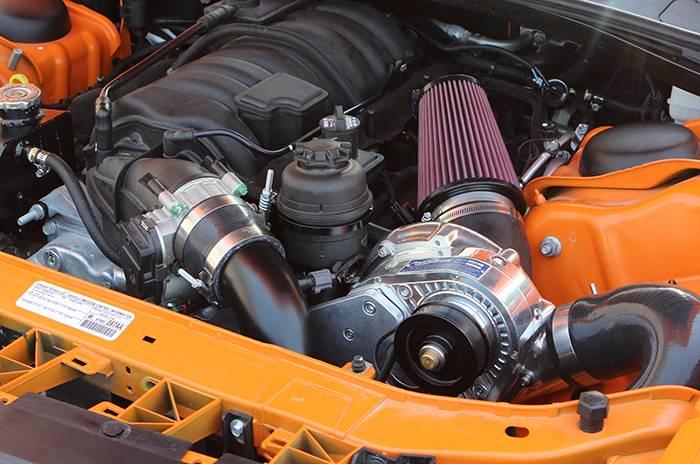 ATI/Procharger - Dodge Challenger SRT-8 HEMI 6.4L 2011-2014 Procharger - HO Intercooled P1SC1