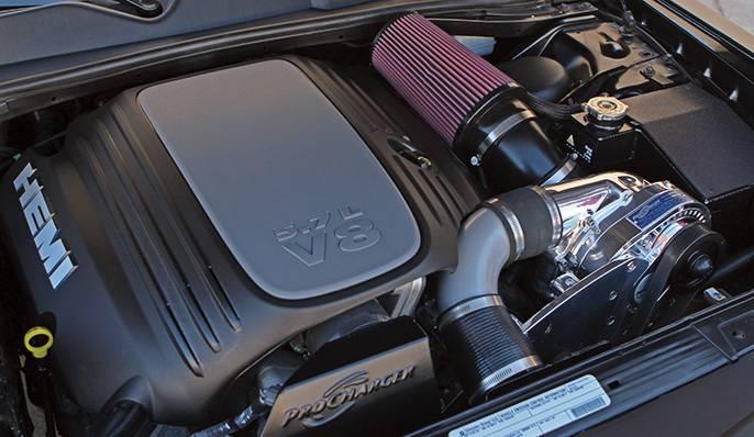 Dodge Challenger Hemi R T 5 7l 2011 2014 Procharger Ho Intercooled P1sc1 1df414 Sci Ati Procharger Supercharger System Kit Treperformance Com