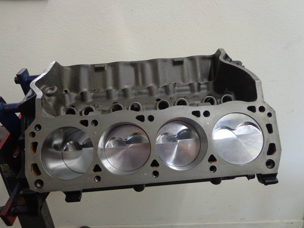 Ford 351w 408ci Stroker 9 Second Short Block