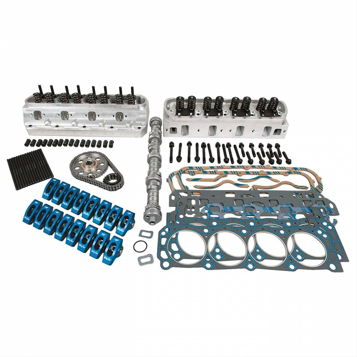 Trickflow Twisted Wedge 11R SBF Top-End Engine Kits, 432 HP