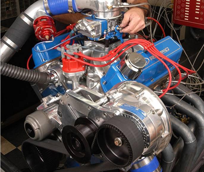 Procharger Supercharger Ford EFI SB SBF F-1X F1X Cog Drive
