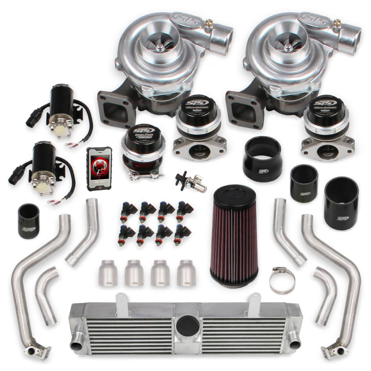 Chevy Corvette C6 2009-2013 LS3 Holley STS Rear Mounted Twin