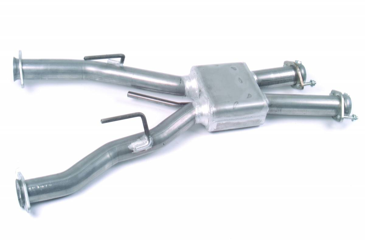 """MAC Performance - Ford Mustang 1979-1993 5.0L Automatic MAC 3"""" Aluminized Pro Chamber Long TubeHeaders - Image 1"""