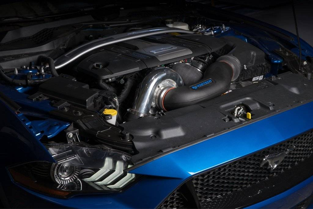 Vortech Superchargers - Ford Mustang GT 5.0L 2018-2019 Vortech Supercharger - Satin V-3 JT Complete Kit