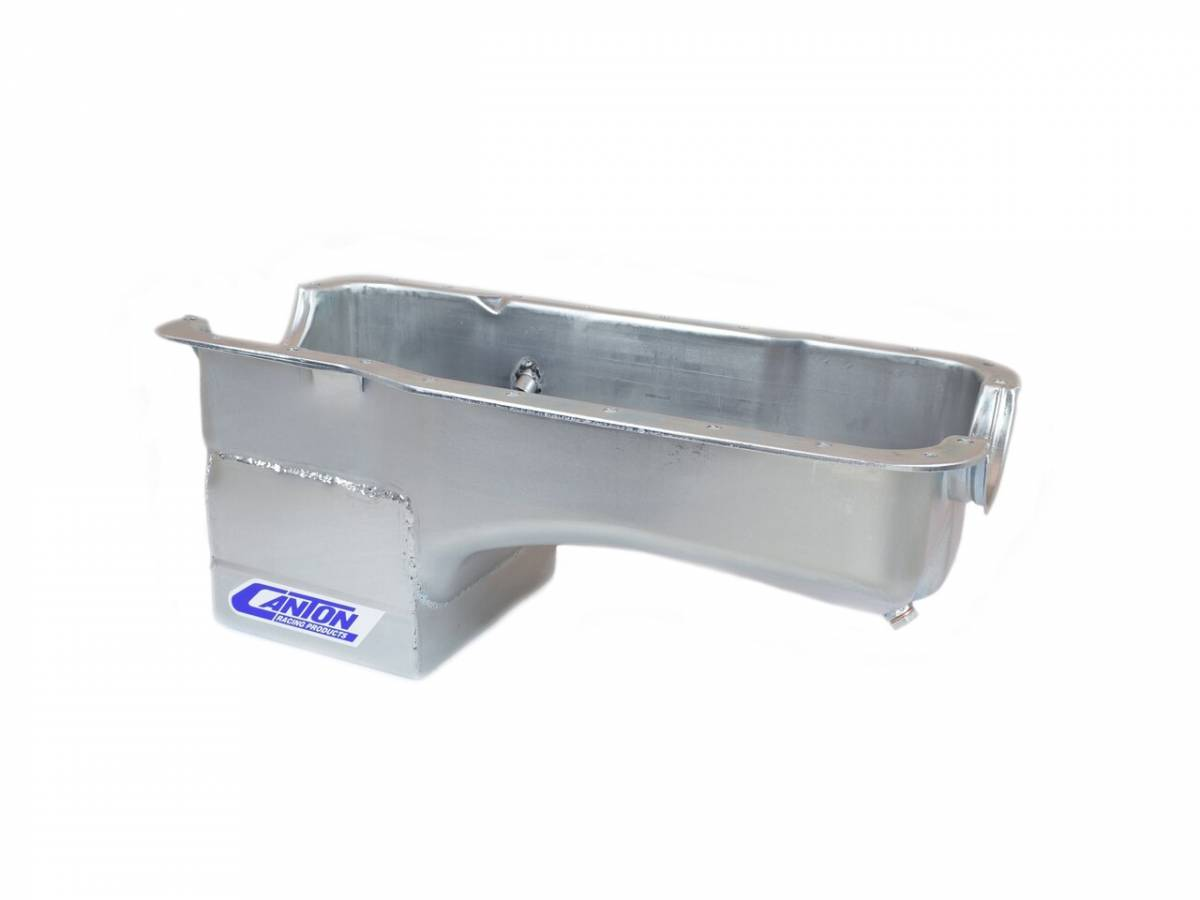 Canton Racing Products - Ford Mustang 289/302 Canton 7 Quart Deep Rear Sump Oil Pan - Image 1