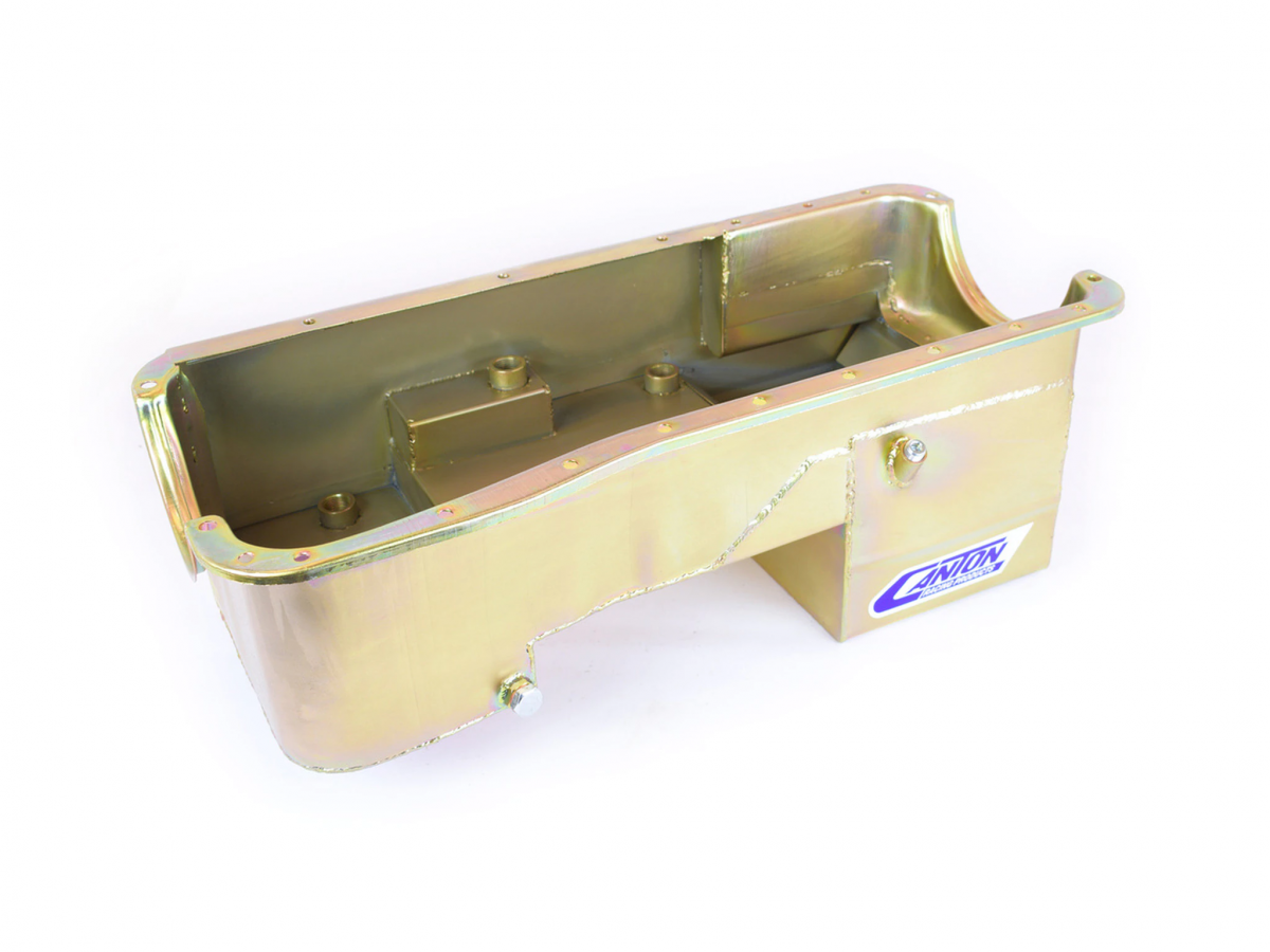 Canton Racing Products - Ford Fox Body Pro Power 429-460 Blocks Rear Sump Drag Race Oil Pan - Image 1