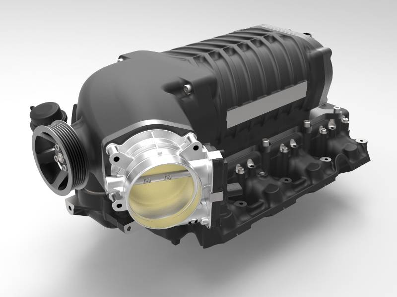 Whipple Superchargers - Whipple GM 2019-2021 5.3L Truck Gen 5 3.0L Supercharger Intercooled Complete Kit - Image 1