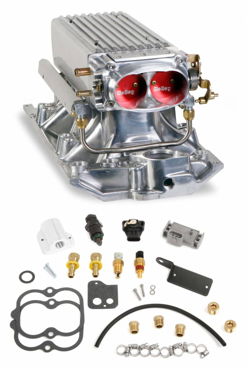 Holley - Holley Stealth Ram Multi-Port Power Pack for Chevy Small Block Vortec Heads - Image 1