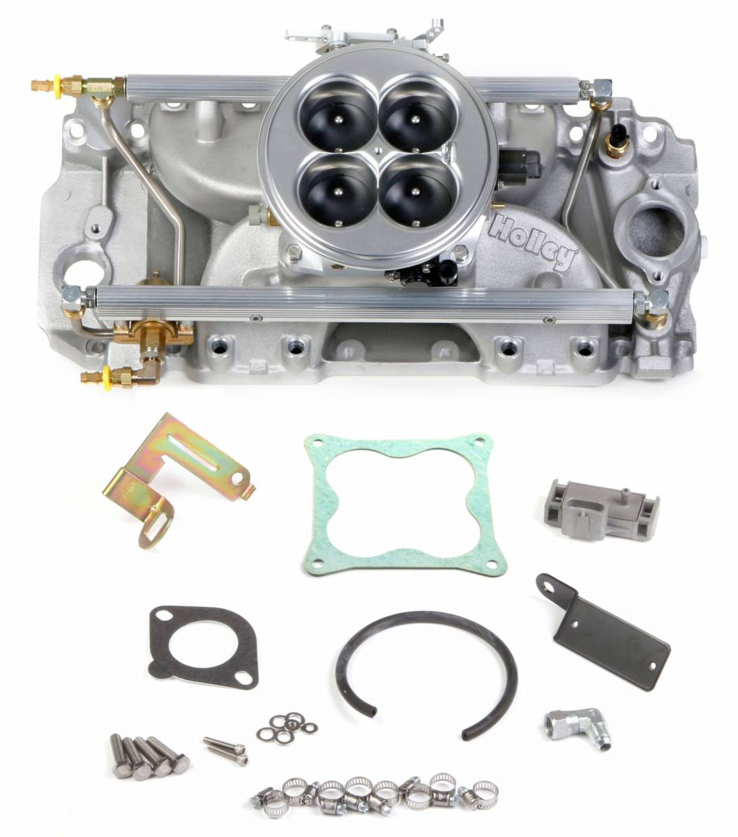 Holley - Holley Multi-Port Power Pack for Chevy Big Block Standard Deck, Rectangular Port Heads 2000CFM - Image 1