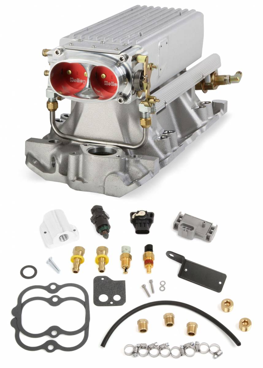 Holley - Holley Stealth Ram Multi-Port Power Pack for Chevy Small Block Early/Late Heads - Image 1