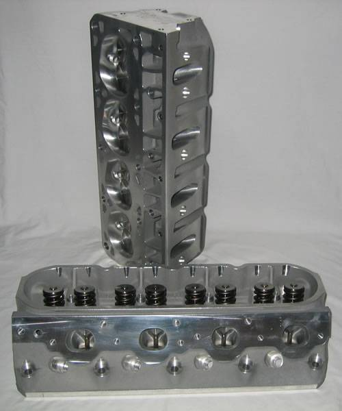 Air Flow Research - AFR 210cc LSX Cylinder Heads, 66cc Chambers, With Parts - Image 1
