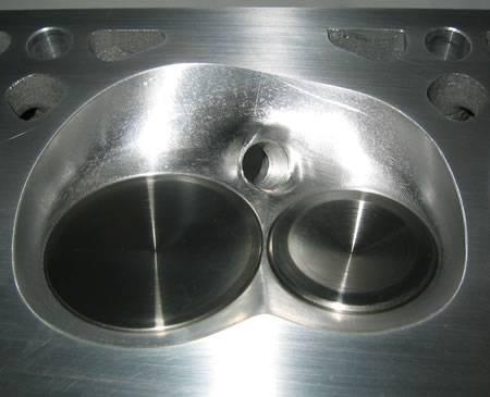 AFR 230cc LSX Mongoose Chevy Aluminum Eliminator Cylinder Heads 62cc