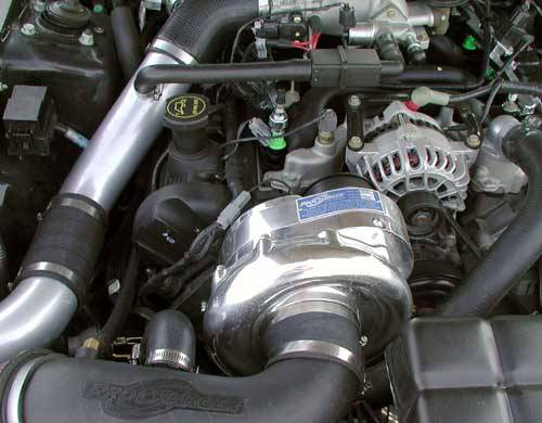 ATI/Procharger - Ford Mustang GT 1999-2004 and 2001 Bullitt 4.6L (2V) Procharger - HO Intercooled P-1SC - Image 1