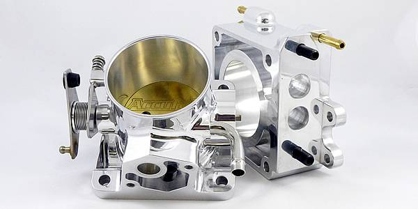 Accufab Racing - Accufab 65mm 86-93 Mustang 5.0L Race Throttle Body w/EGR Spacer - Image 1