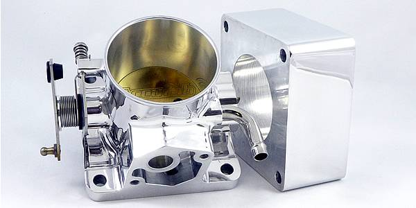 Accufab Racing - Accufab 75mm 86-93 Mustang 5.0L Throttle Body w/Blank Spacer - Image 1