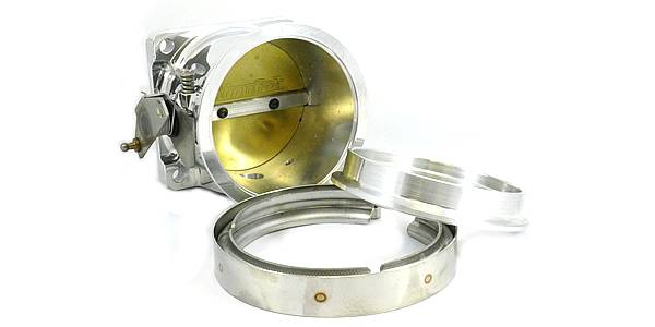 Accufab Racing - Accufab 105mm 86-93 Mustang 5.0L V-band Throttle Body Kit - Image 1