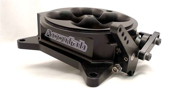 Accufab Racing - Accufab 4-Barrel 4150 Black Throttle Body