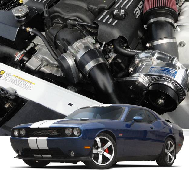 ATI/Procharger - Dodge Challenger SRT-8 HEMI 6.4L 2011-2014 Procharger - HO Intercooled P1SC1