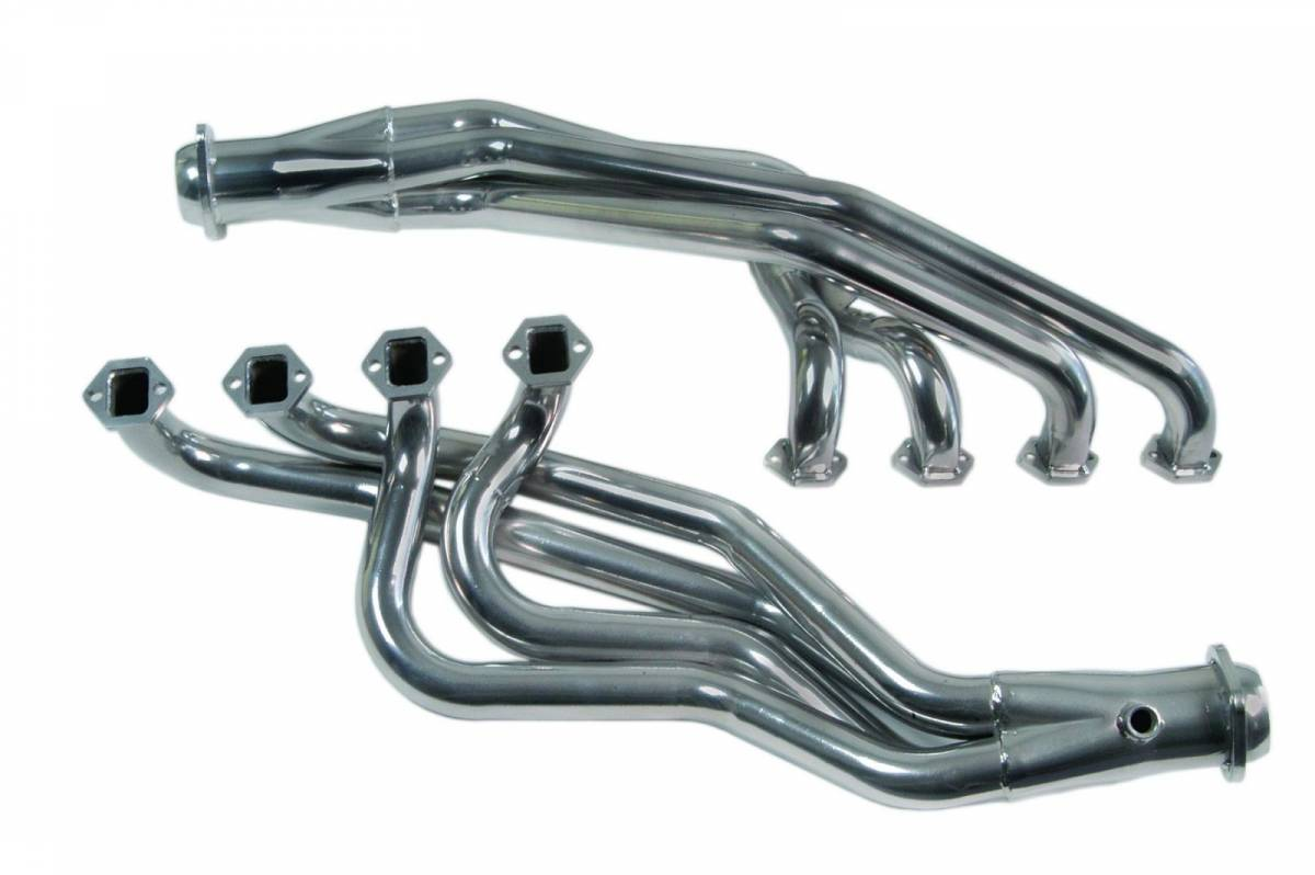 "MAC Performance - Ford Mustang 1979-1993 5-Speed MAC 1 3/4"" Ceramac Long Tube Headers w/ 2.5"" Collectors - Image 1"