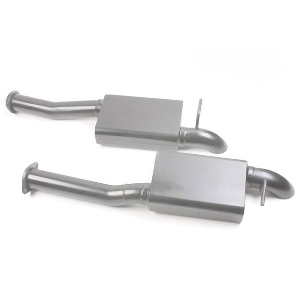 """MAC Performance - Ford Mustang 1979-19955.0LMAC2.5"""" Cat-Back Exhaust Pro Dumps - Image 1"""