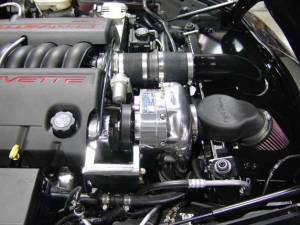 ATI / Procharger Superchargers - Chevy Corvette C6 Prochargers - ATI/Procharger - Corvette C6 2005 Auto (LS2) Procharger - HO Intercooled P-1SC-1