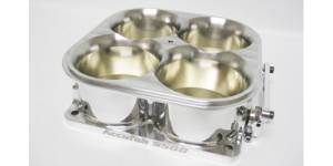 Accufab Throttle Bodies - Accufab - 4-Barrel Throttle Bodies - Accufab Racing - Accufab 4-Barrel 9500 Polished Competition Throttle Body