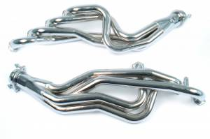 "Ford Mustang 1994-2004 V6 - Mustang 94-95 5.0 Long Tube Exhaust - MAC Performance - MAC Ford Mustang 1 3/4"" Chrome Long Tube Headers with 3"" Collectors for PC3395 5.0L 1994-1995"