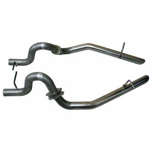 "Ford Mustang 1979-1995 V8 - Mustang 79-93 5.0 Short Tube Exhaust - MAC Performance - Ford Mustang 1979-1993 LX & 1994-1997 GT MAC 2½"" Replacement Tail Pipes"