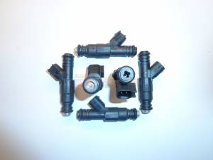 Fuel System - TRE Bosch Thin Body Style Fuel Injectors - TREperformance - TRE 60lb EV6 Bosch/Siemens Deka IV Style Fuel Injectors - 6
