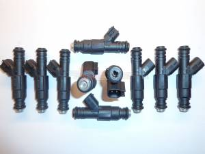 Fuel System - TRE Bosch Thin Body Style Fuel Injectors - TREperformance - TRE 60lb EV6 Bosch/Siemens Deka IV Style Fuel Injectors - 10