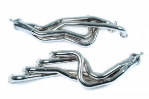 "Ford Mustang 1994-2004 V6 - Mustang 94-95 5.0 Long Tube Exhaust - MAC Performance - 1994-1995 Ford Mustang GT 5.0L 1 3/4"" Chrome Long Tube Headers with 2.5"" Collectors"