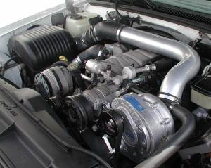ATI / Procharger Superchargers - GMC / Chevy Truck / SUV 1988-2006 Prochargers - ATI/Procharger - GM Truck/SUV 1996-2000 7.4L Procharger - HO Intercooled P-1SC TUNER KIT