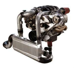 ATI / Procharger Superchargers - Ford Mustang Prochargers 2005-2010 - ATI/Procharger - Ford Mustang GT 2005-2009 Procharger Supercharger 4.6L - Intercooled Serp Race Kit F-1A