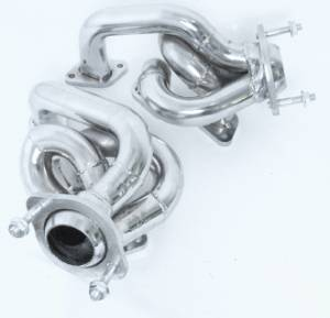 Ford Mustang 2011-2017 - 2011-2014 Ford Mustang V6 3.7L - MAC Performance - Ford Mustang V6 3.7L 2011-2013 Chrome Plated Short Tube Headers