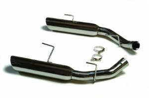 Ford Mustang 2005-2010 - Mustang 2005-2010 GT 4.6 V8 - MAC Performance - Ford Mustang GT V8 4.6L 2005-2010 Stainless Steel Boom Tube Axle Back Exhaust System