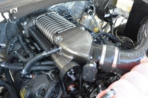Whipple Superchargers - Ford Truck Whipple Superchargers - Whipple Superchargers - Whipple Ford F150 5.0L 2015-2017 Supercharger Intercooled Kit W175AX 2.9L
