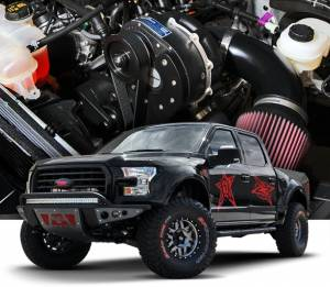 ATI / Procharger Superchargers - Ford Truck & SUV 2011-2017 Prochargers - ATI/Procharger - Ford F-150 5.0L 2015-2017 4V Procharger - HO Intercooled (Tuner Kit)