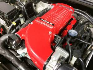 Whipple Jeep Grand Cherokee SRT8 6.4L 2012-2018 Stage 2 Supercharger Intercooled Kit W175FF 2.9L