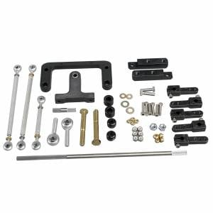 Trickflow - Trick Flow A460 Dual Carburetor Linkage Kit for A460 Heads 385 series