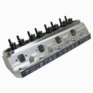 Trick Flow Specialties Cylinder Heads - TFS Cylinder Heads - Small Block Ford - Trickflow - Trick Flow Twisted Wedge 11R Competition 190cc Cylinder Head, SBF, 56cc Chambers, Titanium Retainers