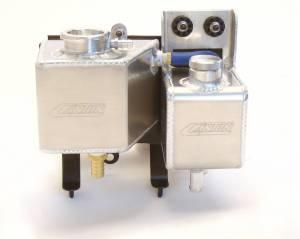 Aluminum Power Steering & Coolant Expansion Reservoir Tanks, Mini Cooper 2002-2006