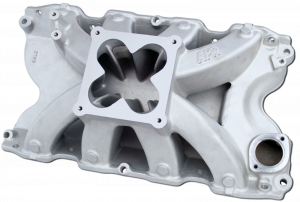 Air Induction - Air Flow Research - AFR BBF Bullitt Single Plane Intake Manifold for 4150 Carb