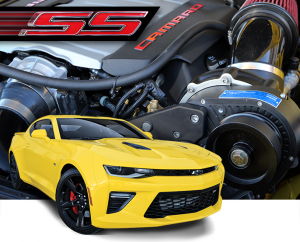 ATI / Procharger Superchargers - Chevy Camaro / Firebird Prochargers - ATI/Procharger - Chevy Camaro SS 2016-2017 Procharger Supercharger - HO Intercooled Tuner Kit