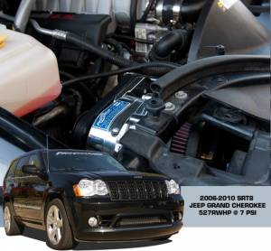 ATI / Procharger Superchargers - Jeep Grand Cherokee/SRT8 Prochargers - ATI/Procharger - Jeep Grand Cherokee SRT8 2006-2010 Procharger Supercharger - Stage II Intercooled TUNER KIT