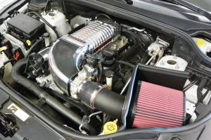 Whipple Superchargers - Dodge/Jeep Truck Whipple Superchargers - Whipple Superchargers - Whipple Jeep Grand Cherokee SRT8 6.4L 2012-2017 Supercharger Intercooled Tuner Kit W175FF 2.9L