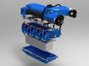 Whipple Superchargers - Ford Truck Whipple Superchargers - Whipple Superchargers - Whipple Ford Raptor F150 6.2L 2010-2014 Supercharger Intercooled Tuner Kit W175AX 2.9L