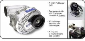 ATI / Procharger Superchargers - Procharger Head Units Only - ATI/Procharger - ATI P-1SC Procharger Supercharger Head Unit